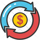Currency graph Icon