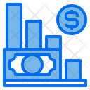 Graph Currency Financial Icon