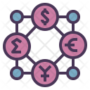 Currency Network Icon