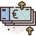 Currency Raise Market Growth Dollar Rate Icon