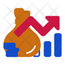 Currency Rate Stock Market Coin Icon