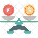 Currency Rate Comparison Icon