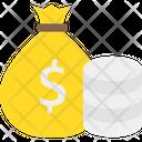 Currency Sack Dollar Sack Money Icon