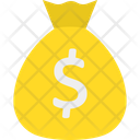 Currency Sack Dollar Sack Money Bag Icon