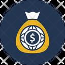 Currency Sack Dollar Sack Money Sack Icon