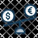 Currency Trading Money Balance Financial Balance Icon