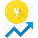 Currency value increase Icon