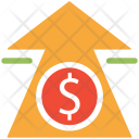 Currency value up Icon