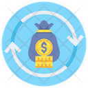 Current Assets Moneybag Money Icon