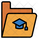Doucment Folder Student Icon