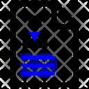 Curriculum Cv Portfolio Icon Icon