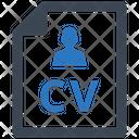 Value Curriculum Vitae Icon