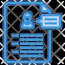 Portfolio Resume Application Icon