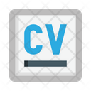 Curriculum Vitae Cv Resume Icon