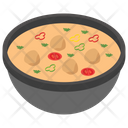 Gravy Curry Asian Food Icon