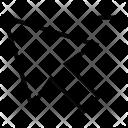 Arrow Cursor Minus Icon