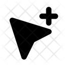 Cursor Network Communication Icon