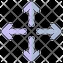 Move Cursor Direction Icon
