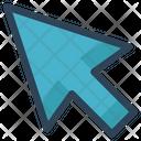 Arrow Cursor Click Icon