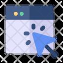 Cursor Arrow Click Icon