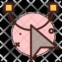Cursor Ticking Icon