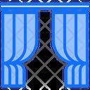 Curtain Decor Furniture Icon
