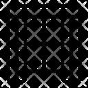 Curtain Window Art And Design Icon