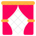 Curtain Curtains Theater Icon