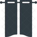 Curtain Decoration Household Icon