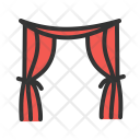 Curtains Furniture Icon
