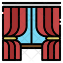 Curtains Household Window Icon