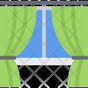 Drapes Curtains Window Icon