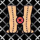 Curvature Legs Icon