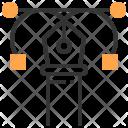 Curve Heart Design Icon
