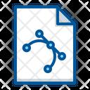 Curve Editable File Icon
