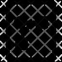 Curve Design Paper Icon