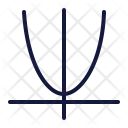 Curve Math Graph Icon