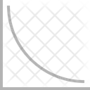 Curve Chart Graph Icon