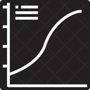 Curve graph Icon