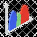 Curve Graph Parabola Graph Distribution Graph Icon