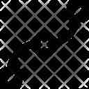 Curve Strike Vector Design Design Icon