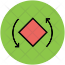Curved Tool Move Icon