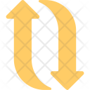 Curved Arrows Icon