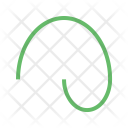 Curved Line Icon