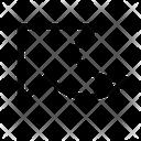 Curvedd arrow Icon