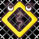 Curvy Road Icon