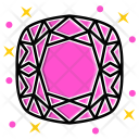 Cushion Diamond Icon