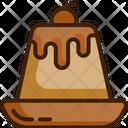 Custard Dessert Sweet Icon