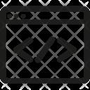 Custom, Code Icon