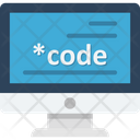 Custom Coding Development Program Icon